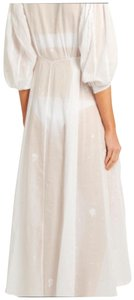 white Maxi Dress by Thierry Colson