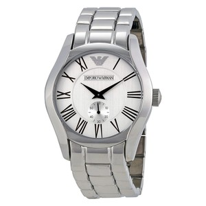 Emporio Armani Stainless Steel Wristwatch Ar 0647 111312 Watch Men's Jewelry/Accessory