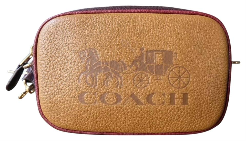 9680cf6525 Coach Belt F75907 Jes Light Saddle Leather Cross Body Bag 48% off retail