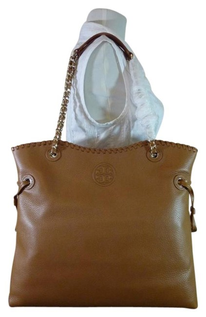 Item - Marion Ns Slouchy Brown/Tan Leather Tote