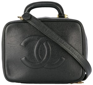Chanel Vanity Celebrity Vintage Kourtney Kardashian Hailey Baldwin Shoulder Bag
