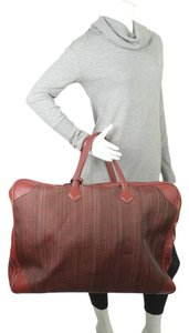 Hermès Hermes Vintage Victoria 60 Burgundy Carry-on Suit Case (173527)