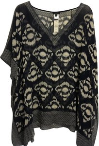 Talbots Silk Poncho Blouse New With Tags Tunic