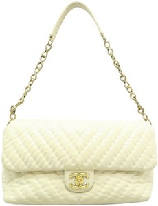 Chanel Chevron Lambskin Shoulder Bag