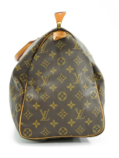 Louis Vuitton 40 Speedy Lv Purse Tote in Brown Image 4