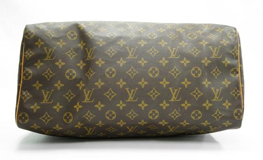 Louis Vuitton 40 Speedy Lv Purse Tote in Brown Image 5