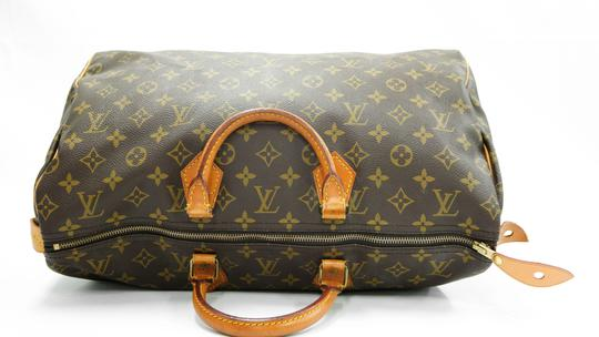 Louis Vuitton 40 Speedy Lv Purse Tote in Brown Image 6