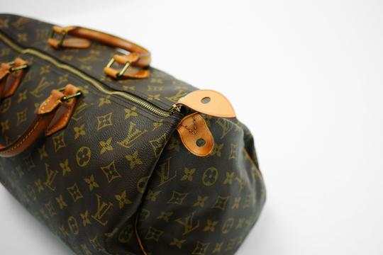 Louis Vuitton 40 Speedy Lv Purse Tote in Brown Image 8