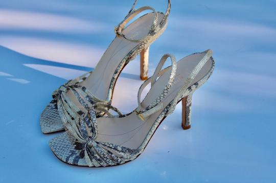Kate Spade gold/gray Sandals Image 1