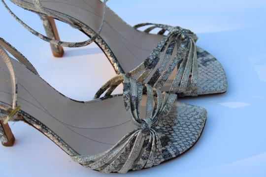 Kate Spade gold/gray Sandals Image 10