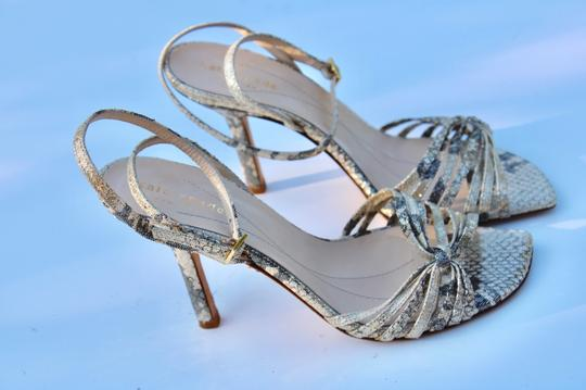 Kate Spade gold/gray Sandals Image 5