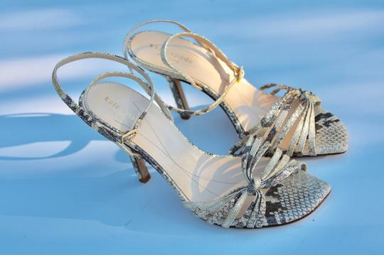 Kate Spade gold/gray Sandals Image 7