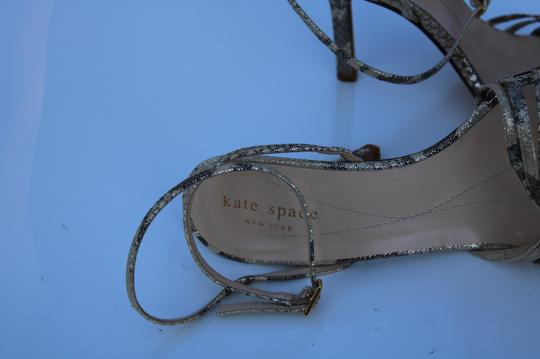 Kate Spade gold/gray Sandals Image 9