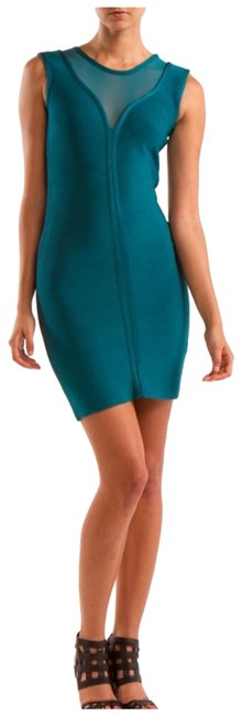 Preload https://img-static.tradesy.com/item/25637747/teal-mesh-inset-bodycon-short-night-out-dress-size-6-s-0-1-650-650.jpg