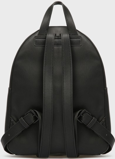 DKNY Leather Logo Plate Backpack Image 3