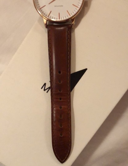 MVMT Boulevard Leather Strap Watch Image 4