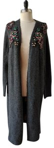 Zara Embellished Jewelled Knit Cardigan