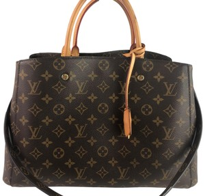 Louis Vuitton Lv Monogram Montaigne Shoulder Bag