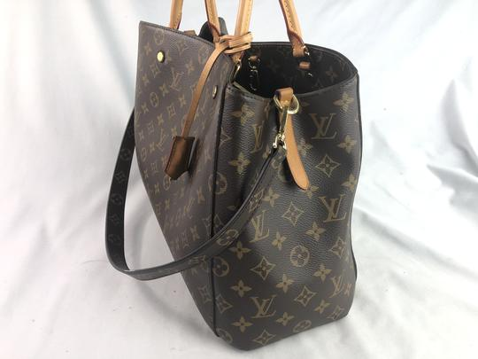Louis Vuitton Lv Monogram Montaigne Shoulder Bag Image 5