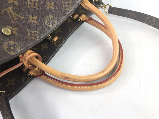 Louis Vuitton Lv Monogram Montaigne Shoulder Bag Image 8