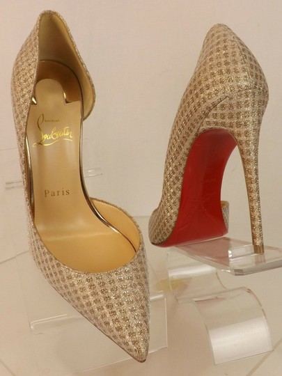 Christian Louboutin Iriza Quadro Lurex Iriza Quadro Iriza Pigalle So Kate Nude Pumps Image 7