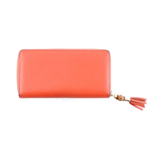 Gucci Pebbled Soft Leather Clutch Zippy Wallet Image 2
