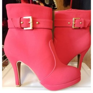 Top Moda Red Boots