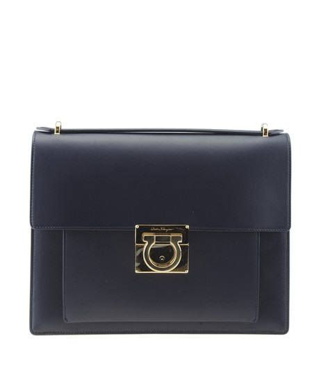 Preload https://img-static.tradesy.com/item/25638220/salvatore-ferragamo-dy-21-f576-marisol-173770-blue-leather-shoulder-bag-0-0-540-540.jpg