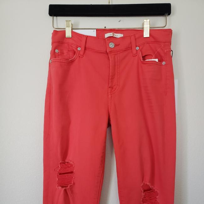 7 For All Mankind Skinny Jeans-Distressed Image 3