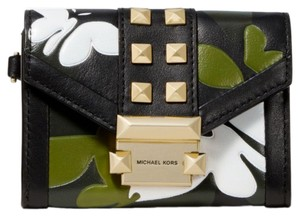 Michael Kors MICHAEL KORS Whitney Small Butterfly Camo Leather wallet