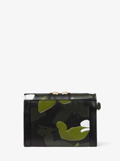 Michael Kors MICHAEL KORS Whitney Small Butterfly Camo Leather wallet Image 2