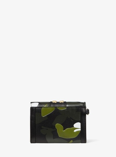 Michael Kors MICHAEL KORS Whitney Small Butterfly Camo Leather wallet Image 3