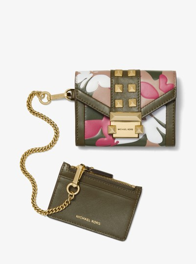 Michael Kors MICHAEL KORS Whitney Small Butterfly Camo Leather wallet Image 4