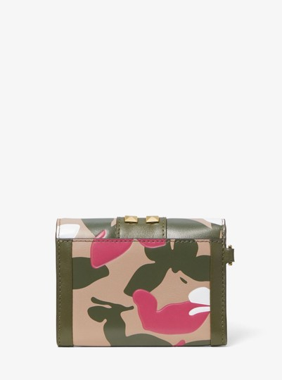 Michael Kors MICHAEL KORS Whitney Small Butterfly Camo Leather wallet Image 5