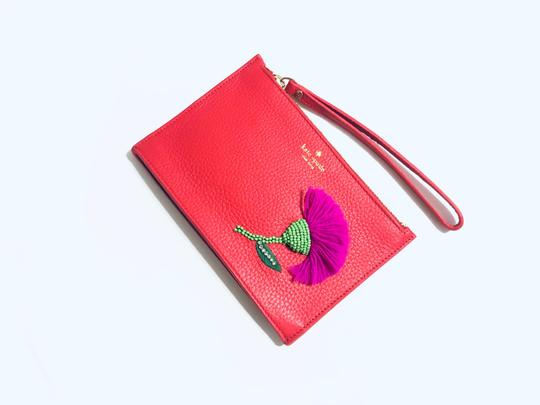 Kate Spade Red Clutch Image 3