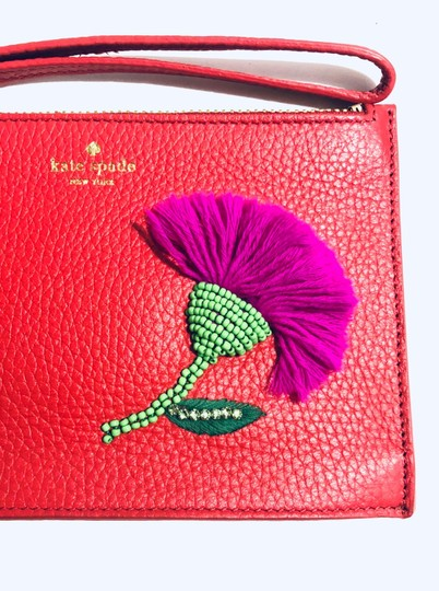 Kate Spade Red Clutch Image 4