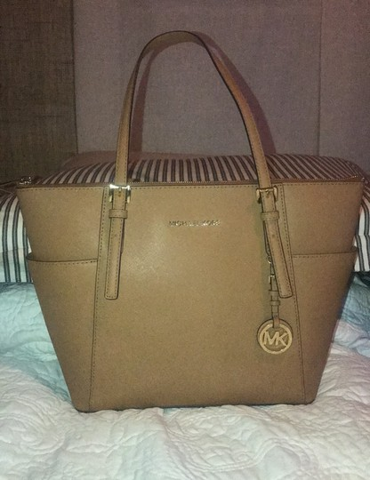 Michael Kors Collection Tote in Acorn Image 1