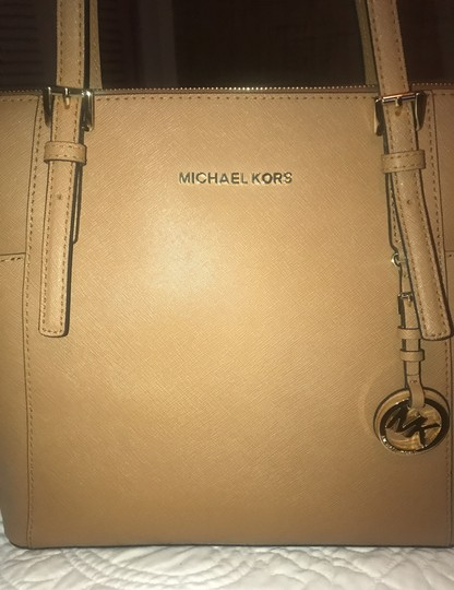 Michael Kors Collection Tote in Acorn Image 4