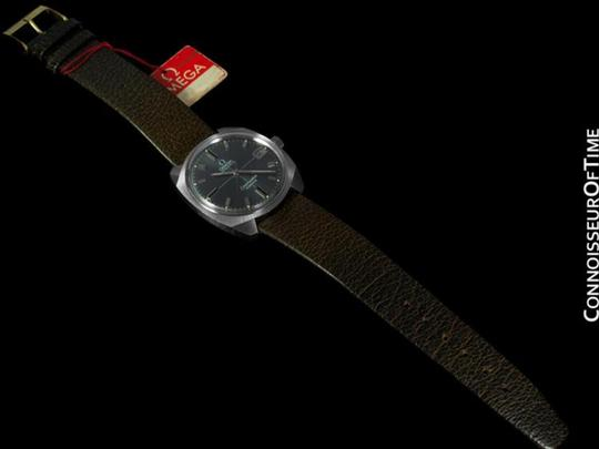 Omega 1970 Omega Vintage Mens Seamaster Cosmic, Date, Auto - Stainless Steel Image 5