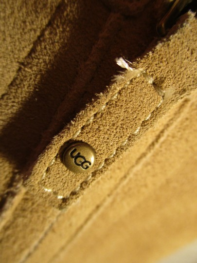 UGG Australia Lo Pro Floral Leather Suede Onm003 sand Boots Image 10