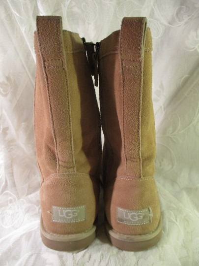 UGG Australia Lo Pro Floral Leather Suede Onm003 sand Boots Image 7