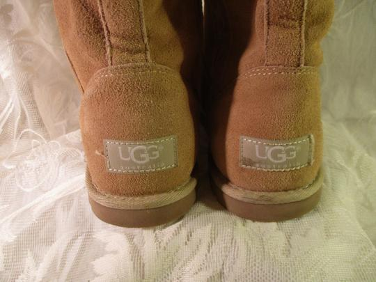 UGG Australia Lo Pro Floral Leather Suede Onm003 sand Boots Image 8