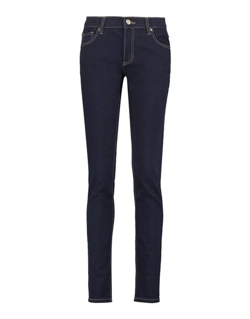 Versace Jeans Collection Italian Denim Skinny Jeans-Dark Rinse Image 1