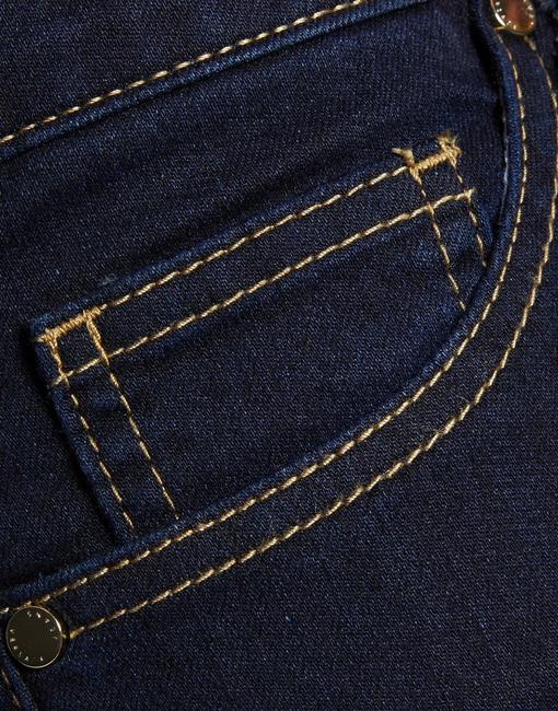Versace Jeans Collection Italian Denim Skinny Jeans-Dark Rinse Image 3