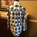 Madewell Button Down Shirt Blue & White Image 2