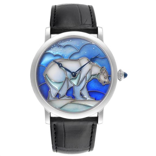 Cartier Cartier Rotonde White Gold Polar Bear Limited 40 Pieces Watch HPI00540 Image 1