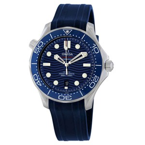 Omega Seamaster Dots Marker Chronometer Ceramic Automatic Men's Watch