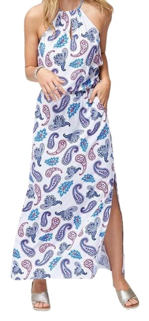 Preload https://img-static.tradesy.com/item/25638444/tommy-bahama-white-pink-purple-blue-tossed-high-neck-long-casual-maxi-dress-size-16-xl-plus-0x-0-1-650-650.jpg