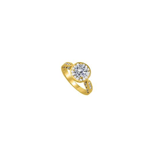 Preload https://img-static.tradesy.com/item/25638451/white-cubic-zirconia-engagement-in-14k-yellow-gold-ring-0-0-540-540.jpg