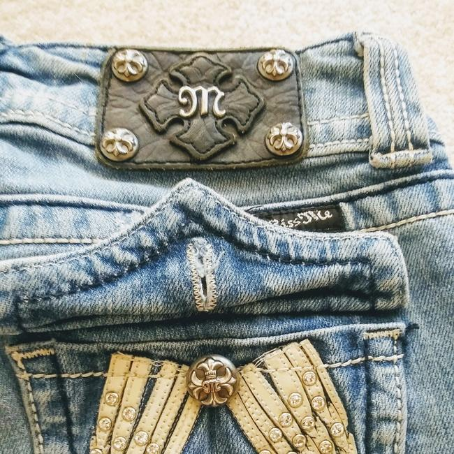 Miss Me Boot Cut Jeans-Distressed Image 4